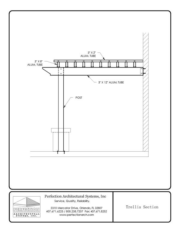 Trellises Pergola Trellis System Architectural