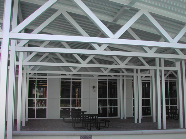 Pitched Roof Canopy Pitched Roof Aluminum Canopy
