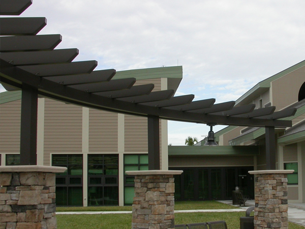 Suspended Canopy · Flat Walkway Cover · Pitched Walkway Cover & Trellises | Pergola | Trellis System Architectural Expansion ...