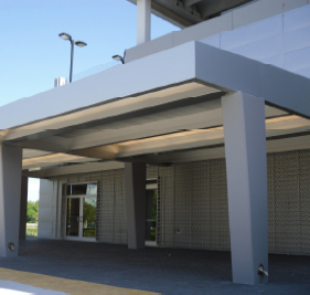Aluminum Carports Drop Off Canopies Parking Garage